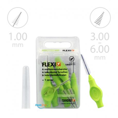 Tandex Flexi Tapered Lime 6 szt. zielony limonkowy