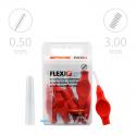 Tandex Flexi Super Fine Ruby 6 szt. czerwony