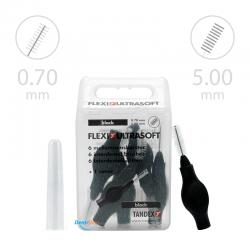 Tandex Flexi Ultra Soft Black 6 szt. czarny