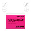 Tandex Flexi Micro Fine Coral 25 szt. Różowy