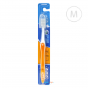 Oral-B 123 szczoteczka z nakładką Medium - pomarańczowa