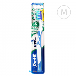 Oral-B 3D WHITE Fresh - Medium - niebieska