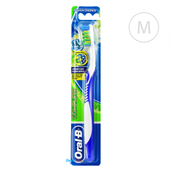 Oral-B Complete Anti-Bacterial - Medium - granatowa