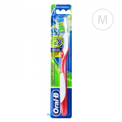 Oral-B Complete Anti-Bacterial - Medium - czerwona