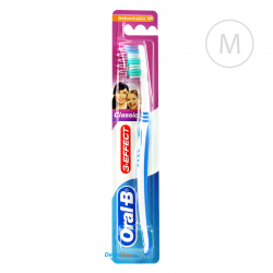 Oral-B 3-EFFECT Classic - Medium - niebieska