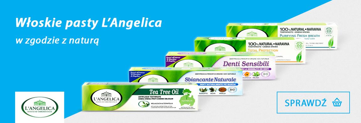 Naturalne, włoskie pasty L'Angelica