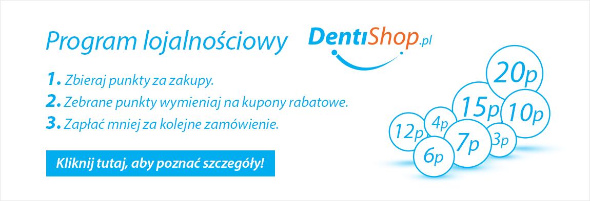 Zbieraj punkty za zakupy w DentiShop.pl